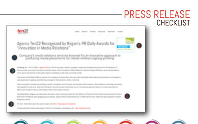 Best Practices for Press Releases